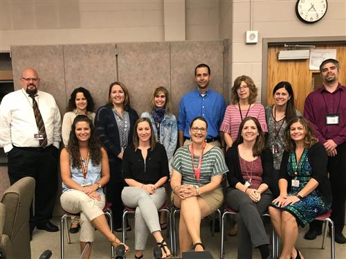 2018-2019 Big Spring Middle School CARE Team